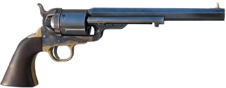 1851 | 1861 Colt Navy revolver | Cartridge Conversion | Ejector