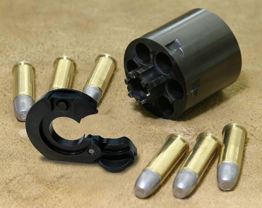 1851 | 1861 Colt Navy revolver | Cartridge Conversion | Ejector
