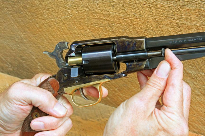 1858 remington revolver cartridge conversion for 58 remington