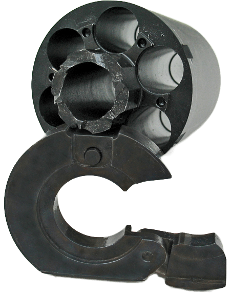 Colt Dragoon Cartridge Converter   Walker Conversion Cylinder