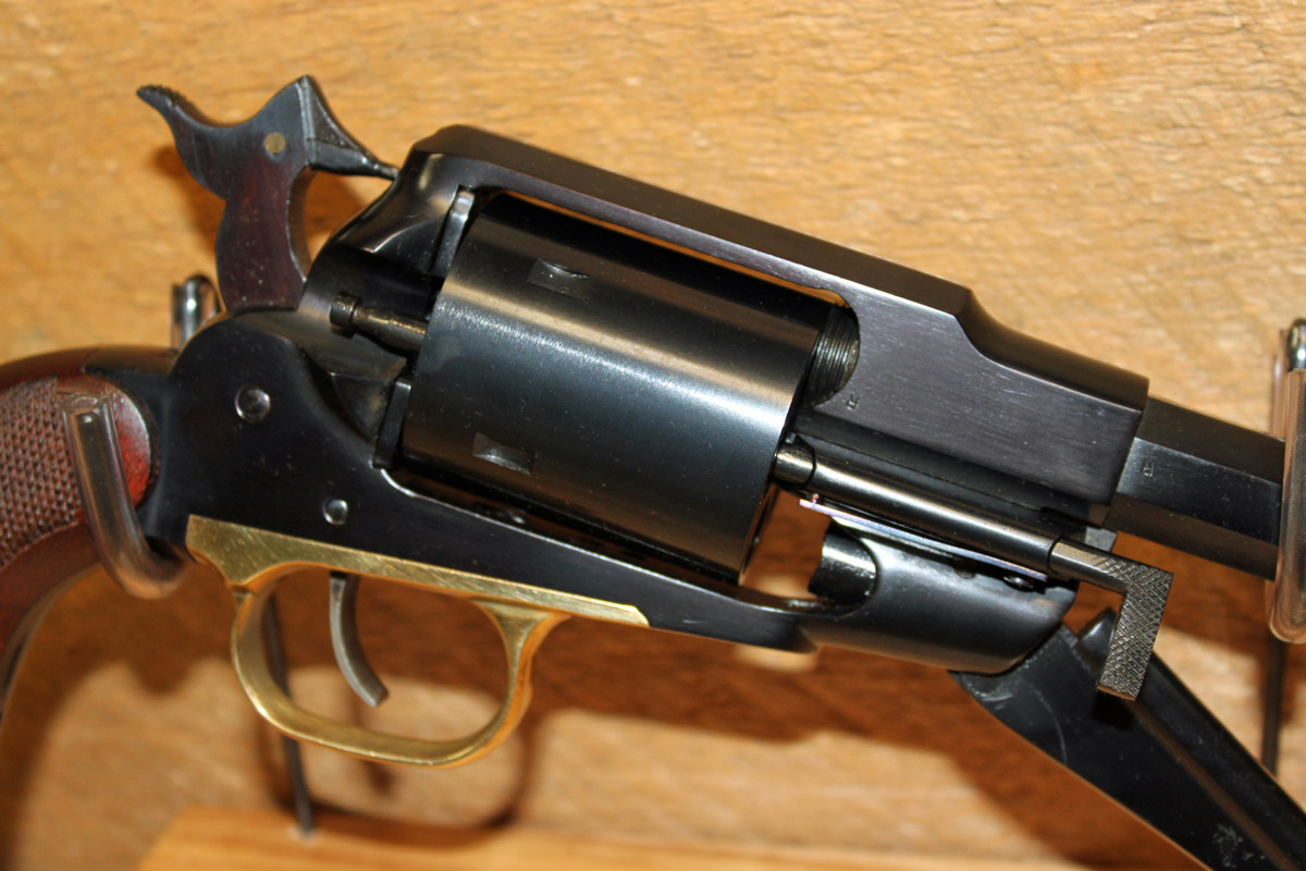 The History of Remington Large Bore Conversion Revolvers